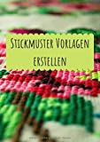 Stickmuster Vorlagen erstellen: Millimeterpapier zum Entwerfen eigener Stickmuster und Embroidery Designs | Sticken | Punch Needle | Stickmuster entwerfen | Stickmuster Papier