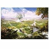 5D-Diamant-Malerei-Set zum Selbermachen Traumstadt Kreuzstich-Set für Erwachsene, Strass-Stickerei, Diamantkunst11.8x15.7in