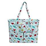 Fertigkeit-Beutel Fadenspeicher Nähen Beutel-Speicher-Einkaufstasche Oxford-Tuch für Stickerei-Projekt und Stricknadel DIY Fertigkeit-Lagerung