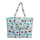 Nicetruc Fertigkeit-Beutel Fadenspeicher Nähen Beutel-Speicher-Einkaufstasche Oxford-Tuch für Stickerei-Projekt und Stricknadeln